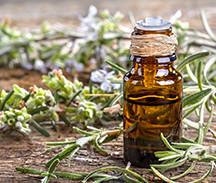 Huile aromatique naturel de romarin